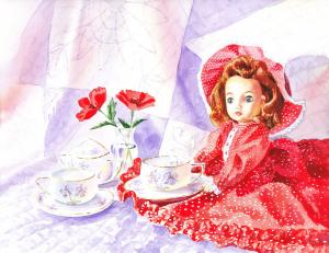 Doll At The Tea Party